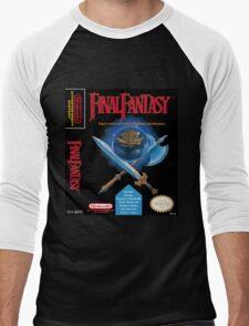 Final Fantasy: Box art Men's Baseball ¾ T-Shirt