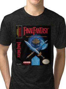 Final Fantasy: Box art Tri-blend T-Shirt