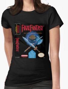 Final Fantasy: Box art Womens Fitted T-Shirt