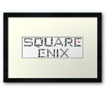 Square Enix Framed Print
