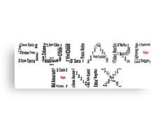 Square Enix Metal Print