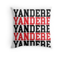 Yandere Throw Pillow