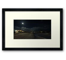 Myvatn in Moonlight Framed Print