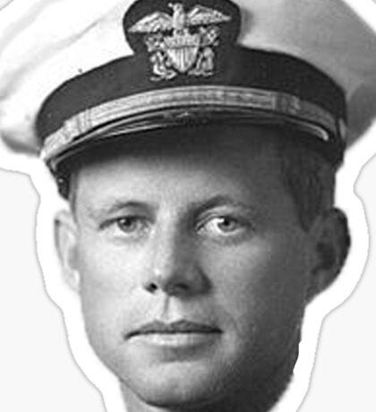 Kennedy in the Navy Sticker