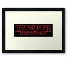 THE EVIL DOCTOR! Framed Print