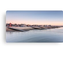 Whitstable Bay Canvas Print