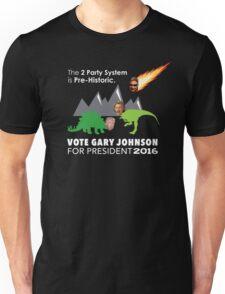 Vote Gary Johnson for President 2016 Unisex T-Shirt