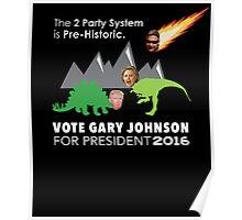 Vote Gary Johnson for President 2016 Poster