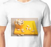 Natural and healthy cashew nuts for raw foodists Unisex T-Shirt