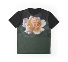 Lone Peach Rose Graphic T-Shirt