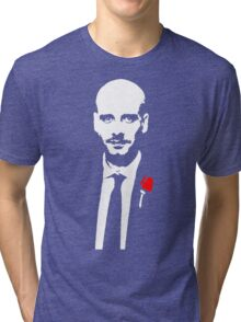 Funny Pep Guardiola the Godfather Tri-blend T-Shirt