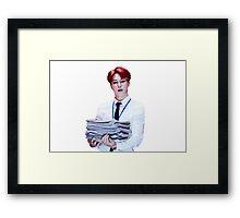 JIMIN - DOPE Framed Print