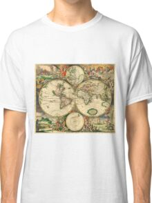 Map of the World (1689) Classic T-Shirt