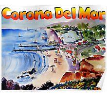 Corona Del Mar Poster