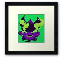 Crazy Gengar Framed Print