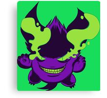 Crazy Gengar Canvas Print