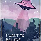 I want to believe by Paola Vecchi