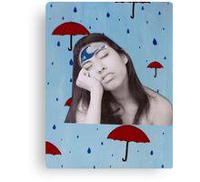cloudy mind Canvas Print