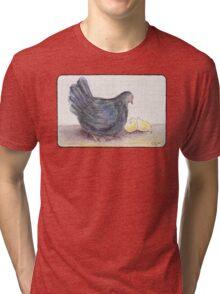 Cluck Cluck Tri-blend T-Shirt