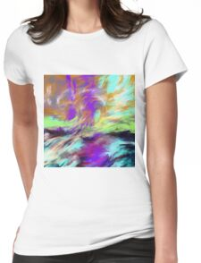 Fleeting is Beauty Womens Fitted T-Shirt