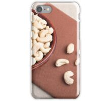 Top view of breakfast for raw foodists iPhone Case/Skin