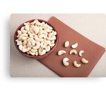 Top view of breakfast for raw foodists Canvas Print