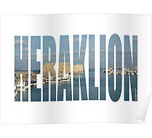 Heraklion Poster