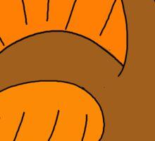 Thanksgiving turkey - transparent Sticker