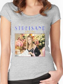 TSHIRT MUSIC STYLE  STREISAND 2016 Women's Fitted Scoop T-Shirt