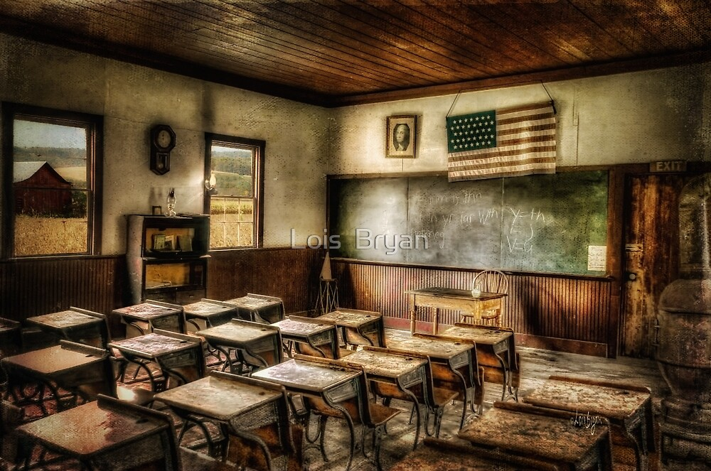 One Room School by Lois  Bryan