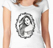 Girl in the Mirror Women's Fitted Scoop T-Shirt