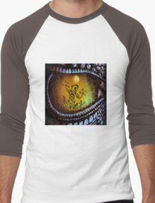 Reptile reflection in the Dragon's eye! Men's Baseball ¾ T-Shirt