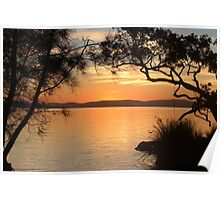 Super Sunset at Magical Myall Poster