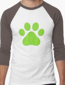 Miraculous Ladybug : Chat Noir Paw Men's Baseball ¾ T-Shirt