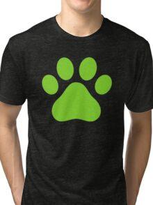 Miraculous Ladybug : Chat Noir Paw Tri-blend T-Shirt