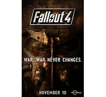 Fallout 4 Poster Photographic Print