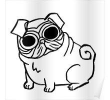 Pug-eyed Poster