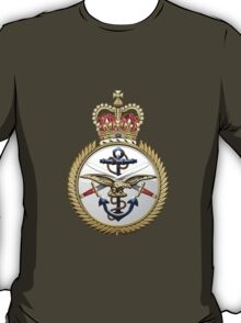 British Armed Forces Emblem 3D T-Shirt