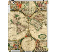 Map of the World (1689) iPad Case/Skin
