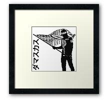 BLVCKSTYL3 Framed Print