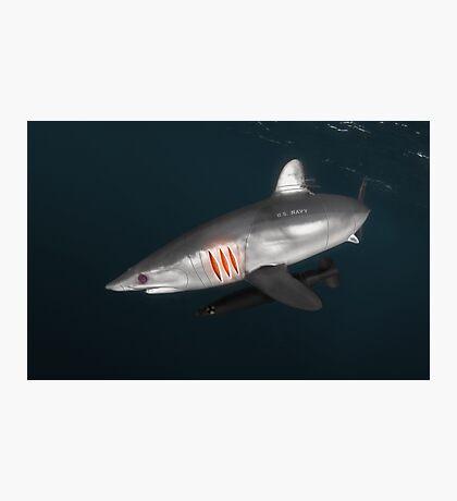 Cyborg Shark Photographic Print
