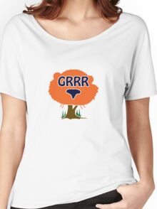Aubie From Auburn University GRRR Tiger Toomers Corner Women's Relaxed Fit T-Shirt