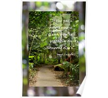 If the path before you....... Poster