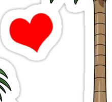 Tropical Love Sticker
