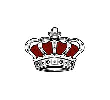 Crown - Red Photographic Print