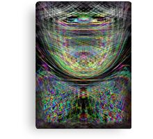 ...  Rising above the barriers of pain from within  ... Canvas Print