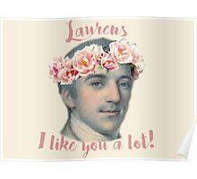 lovely laurens Poster
