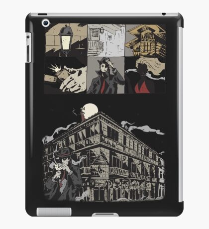 Mystery woman in red iPad Case/Skin
