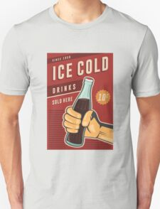 Ice Cold Drinks Unisex T-Shirt