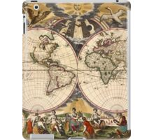 Map of the World (1672) iPad Case/Skin